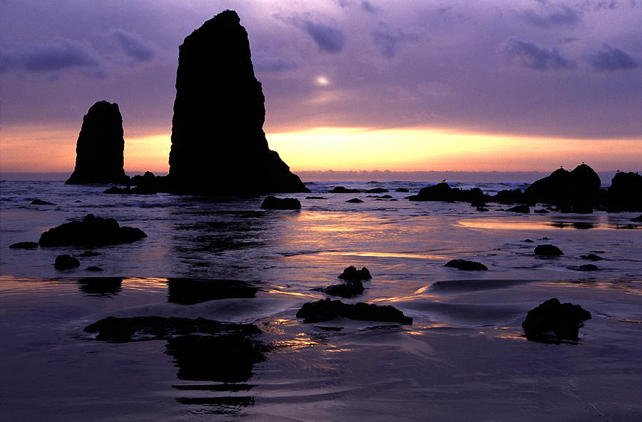 Oregon Photograph - Cannon Beach by Eric Foltz