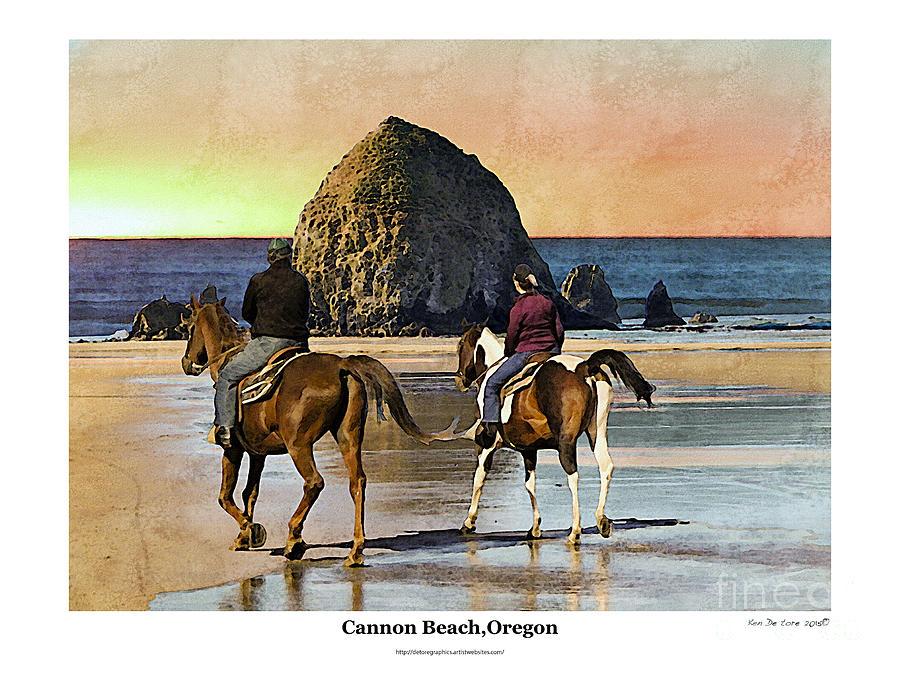 Cannon Beach by Kenneth De Tore