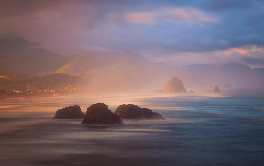 Cannon Beach Light Photograph