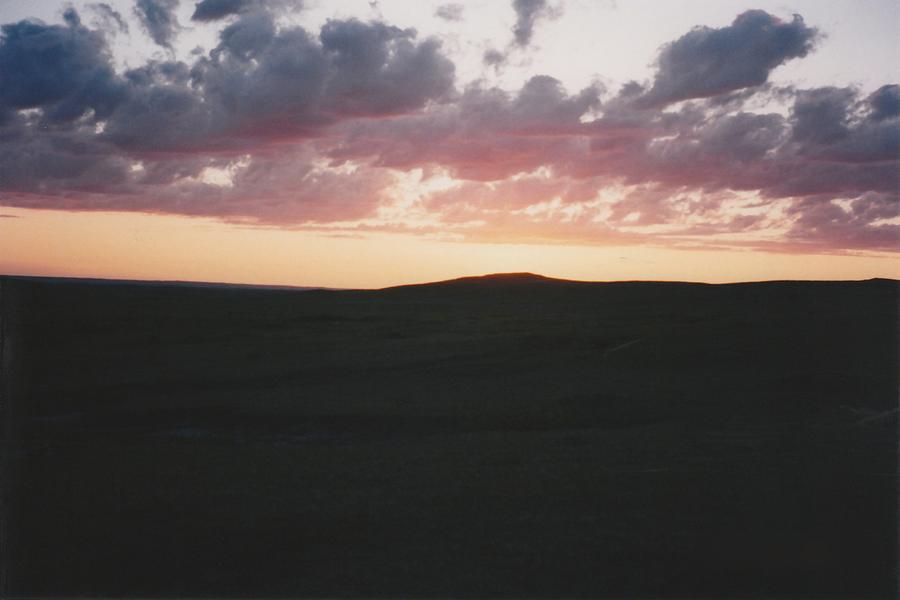 Sky Photograph - Cannon Bull North Dakota by Gene Linder