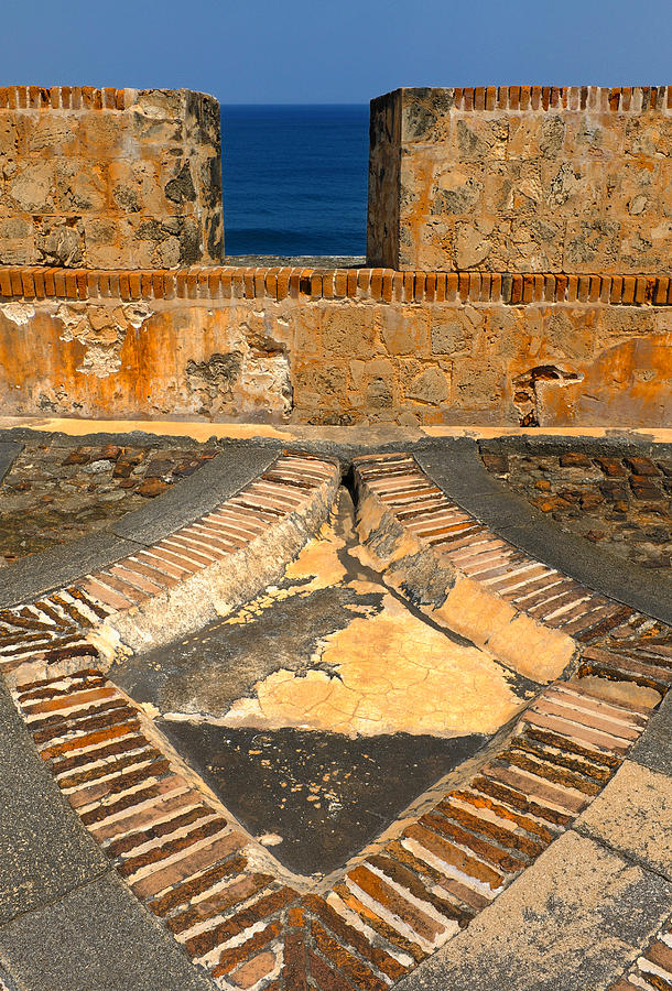 Old Fort Photograph - Cannon Portal by Stephen Anderson