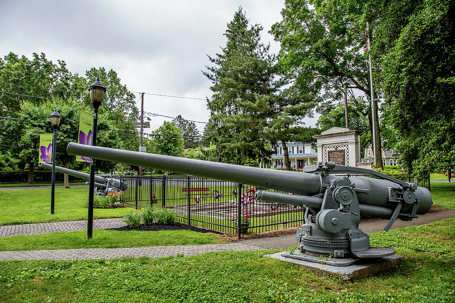 Cannon View of War Memorial by John A Megaw