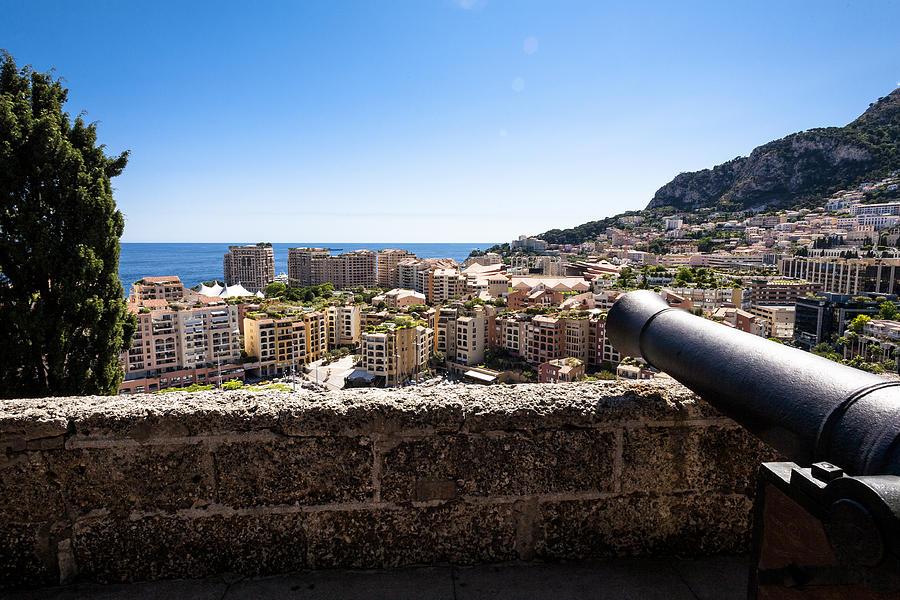 Monaco Photograph - Cannon Wall by Bryan Toro