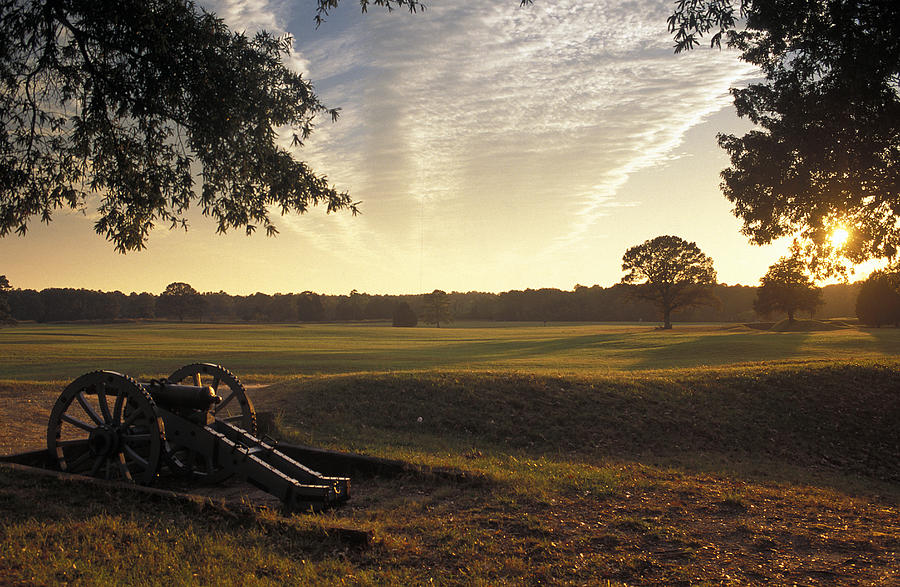 Cannons Photograph - Cannons On The Battlefield by Richard Nowitz