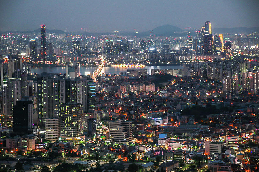 Seoul Photograph - Cannot Go To Sleep by Hyuntae Kim