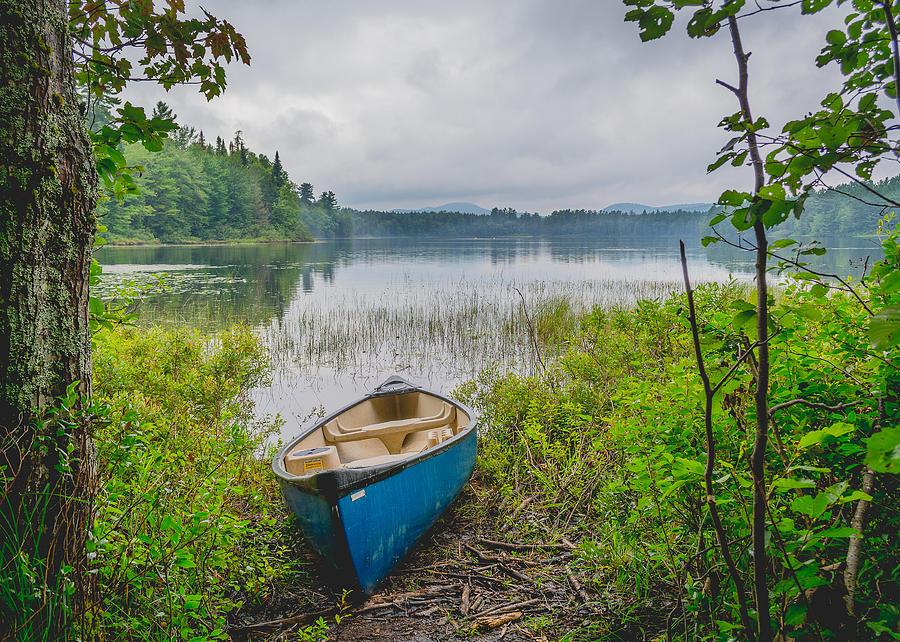 Canoe Photograph - Canoe by Alicia Romano
