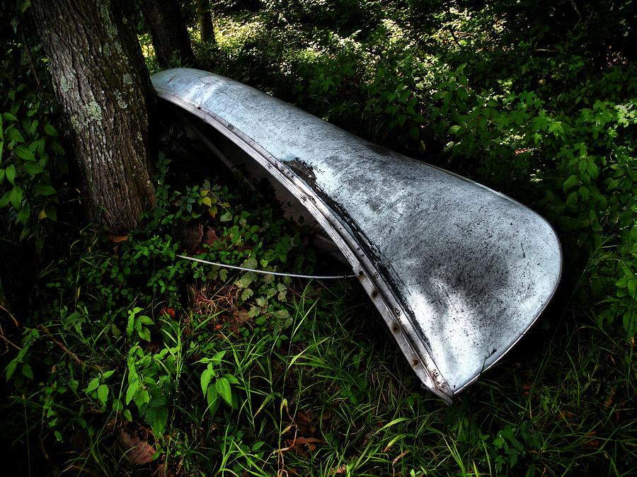 Canoe Photograph - Canoe by Wayne Higgs
