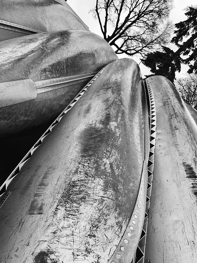 Lakes Photograph - Canoes by Julian Grant