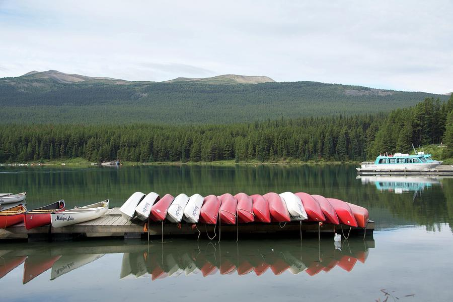 Canoes by Ralph Jones