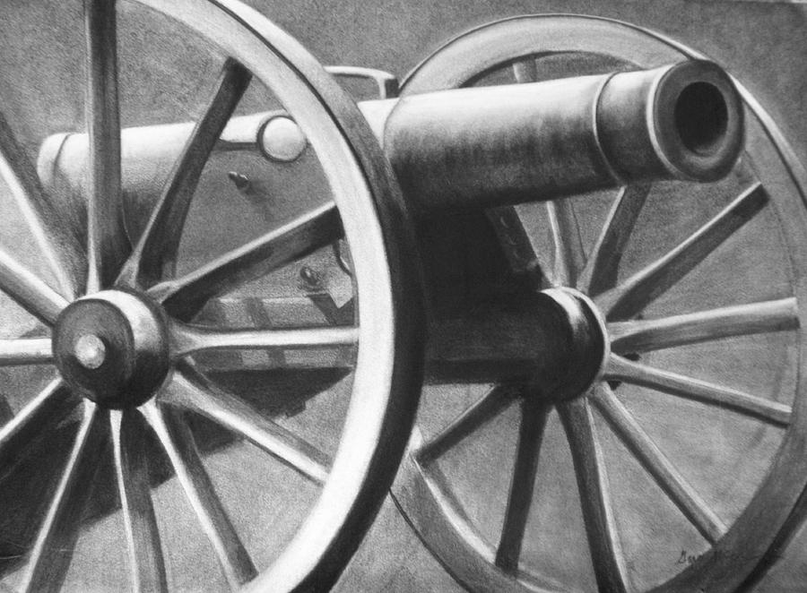 Cannon Painting - Canon by Grace McCracken