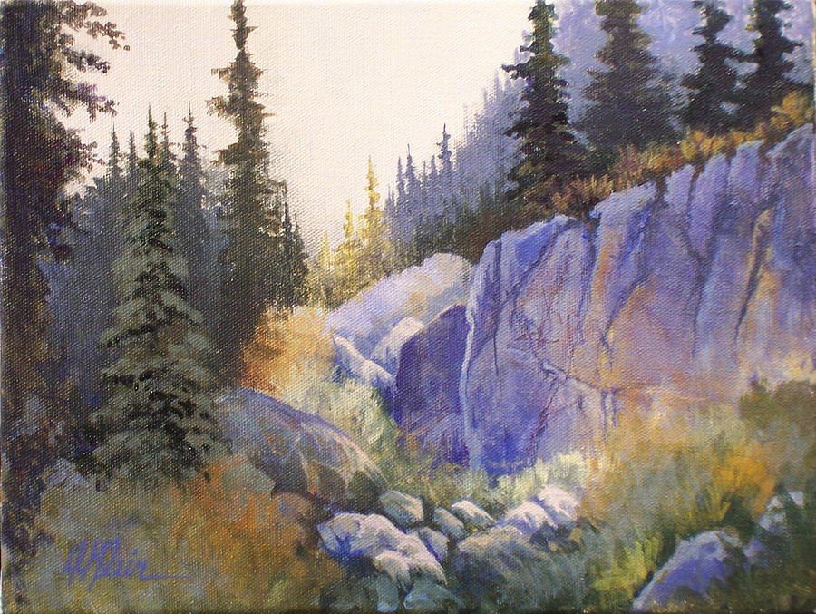 Landscape Painting - Canook Basin by Dalas  Klein