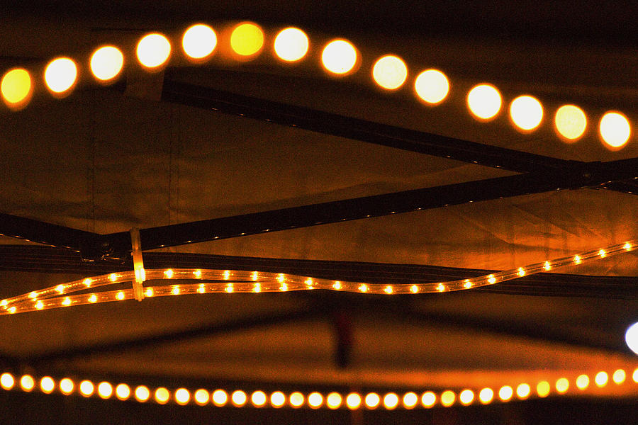 Light Photograph - Canopy Lighting Abstract by Richard Henne