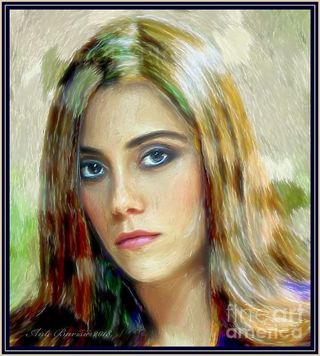 Cansu Dere Portrait by Ante Barisic