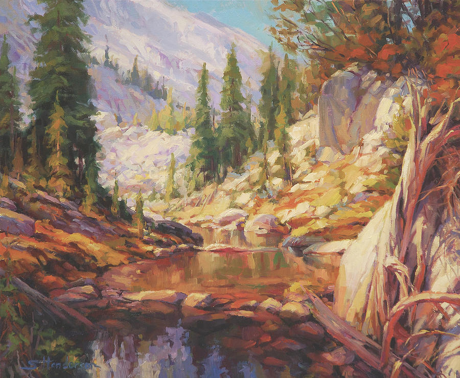 Wilderness Painting - Cantata by Steve Henderson