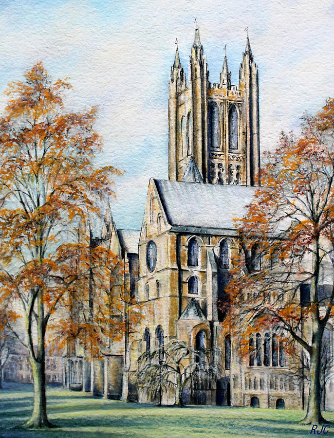 Canterbury Cathedral Painting