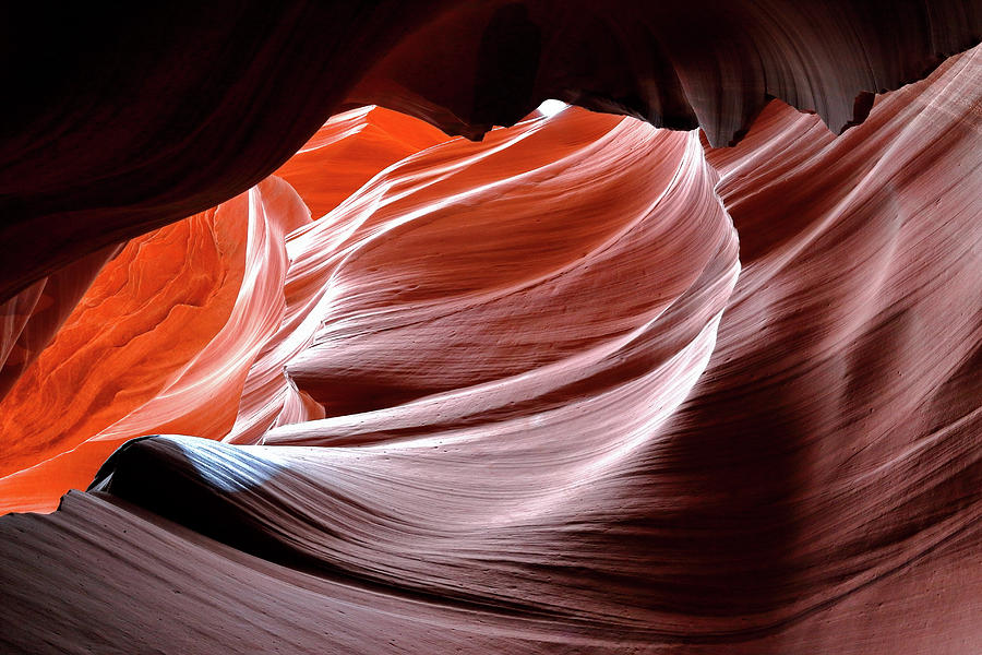 Canyon Abstract 2 by Nicholas Blackwell