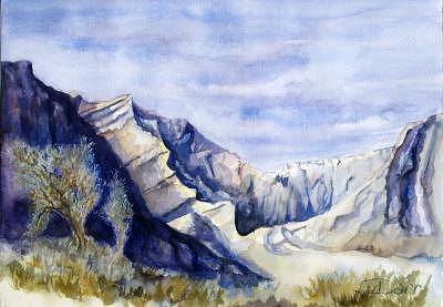 Desert Painting - Canyon Afternoon by Darr Sandberg