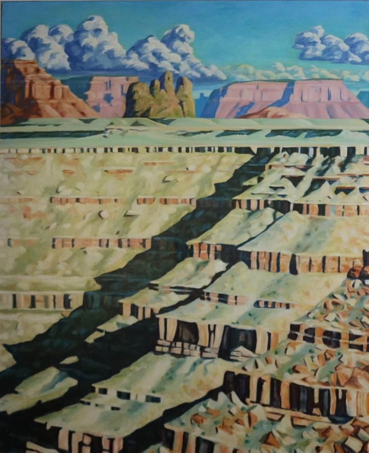 American Southwest Painting - On The Banks Of The San Juan by Allen Kerns