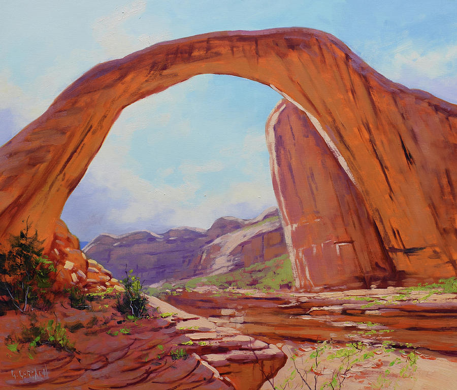 Canyon Arch Painting
