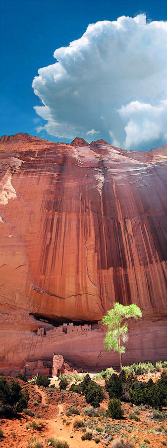Luminist Photograph - Canyon De Chelley by Ric Soulen