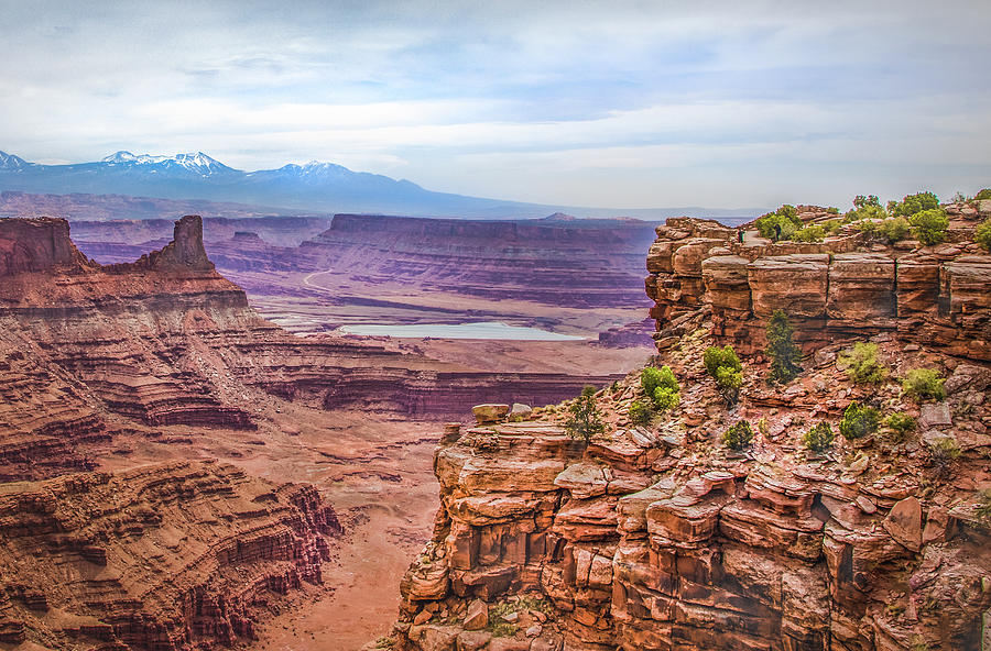 Canyon Landscape by James Woody