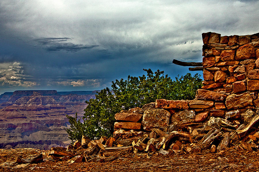 Grand Canyon Photograph - Canyon Outlook by William Wetmore