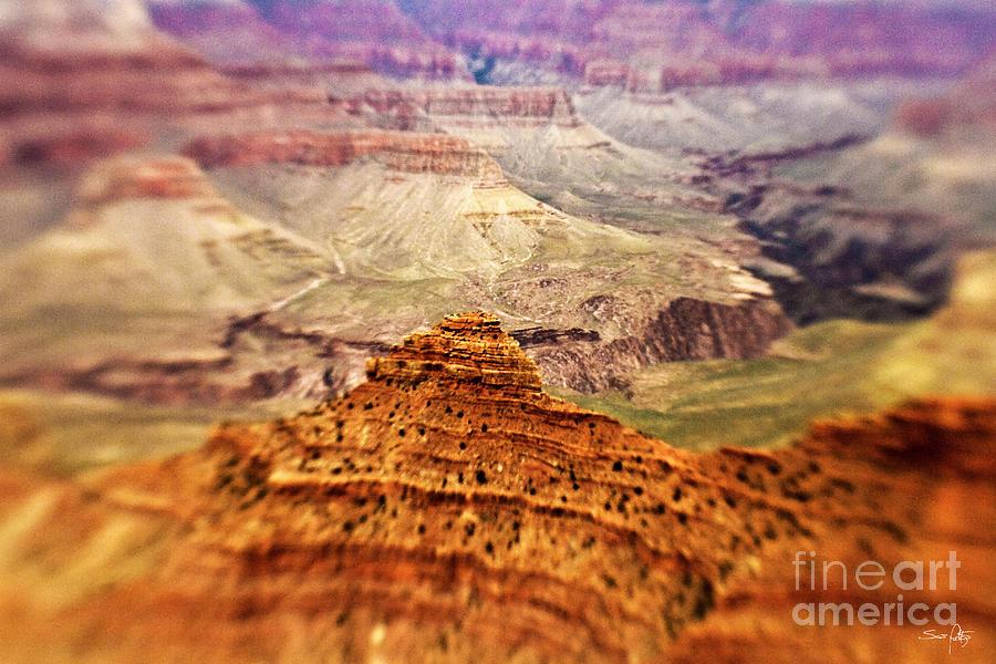 Grand Canyon Photograph - Canyon Peak by Scott Pellegrin