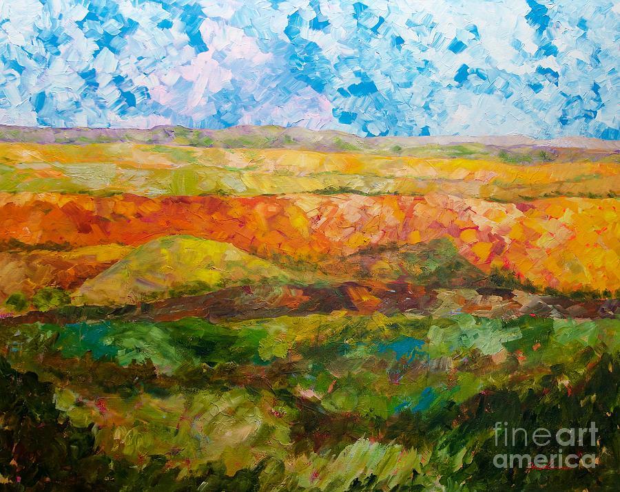 Canyon Ridge Painting