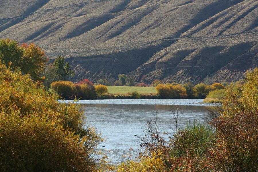 River Photograph - Canyon River by JoJo Photography