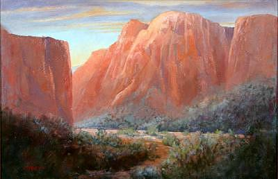 Canyon Suite Painting by Shirley McKay
