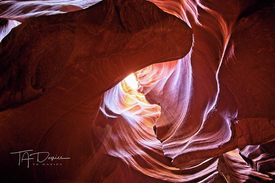 Canyon Vortex by T A Davies