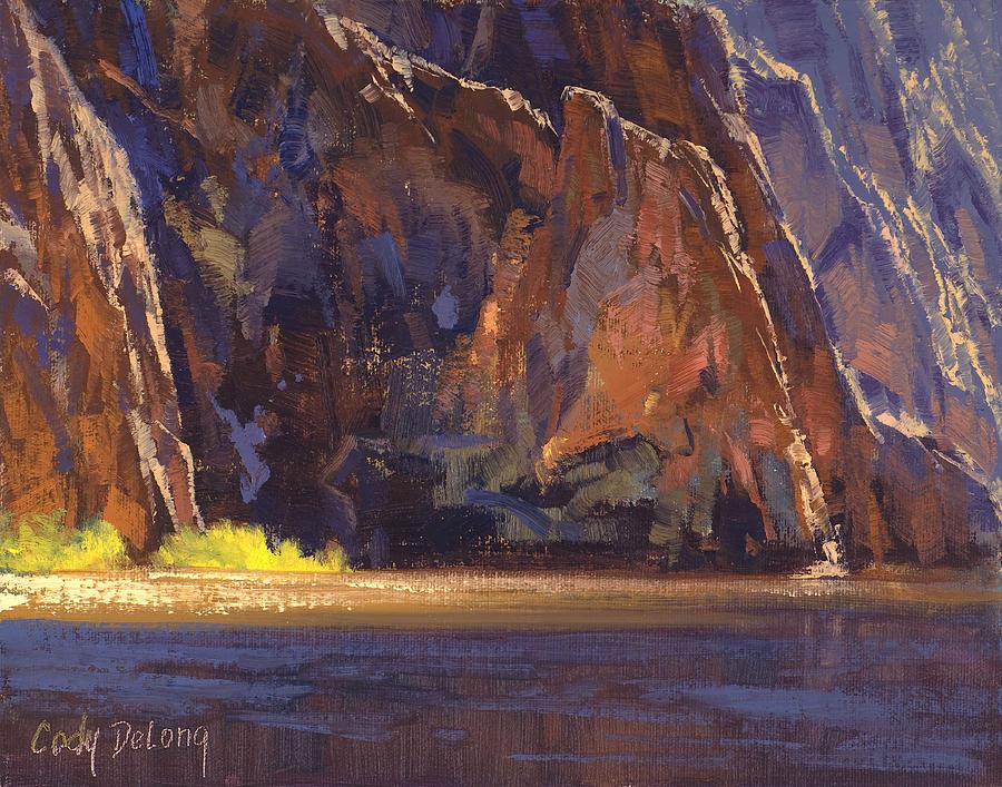 Grand Canyon Painting - Canyon Walls by Cody DeLong