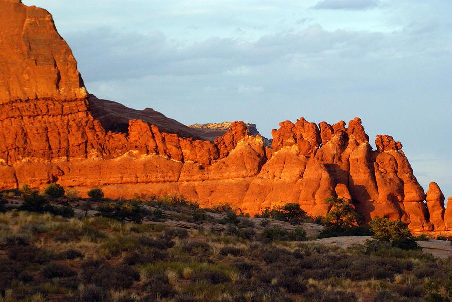 Utah Photograph - Canyonlands At Sunset by Marty Koch