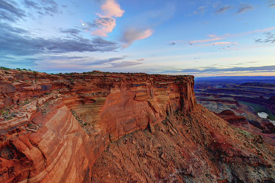 Dead Horse Point Photograph - Canyonlands Delight by Chad Dutson