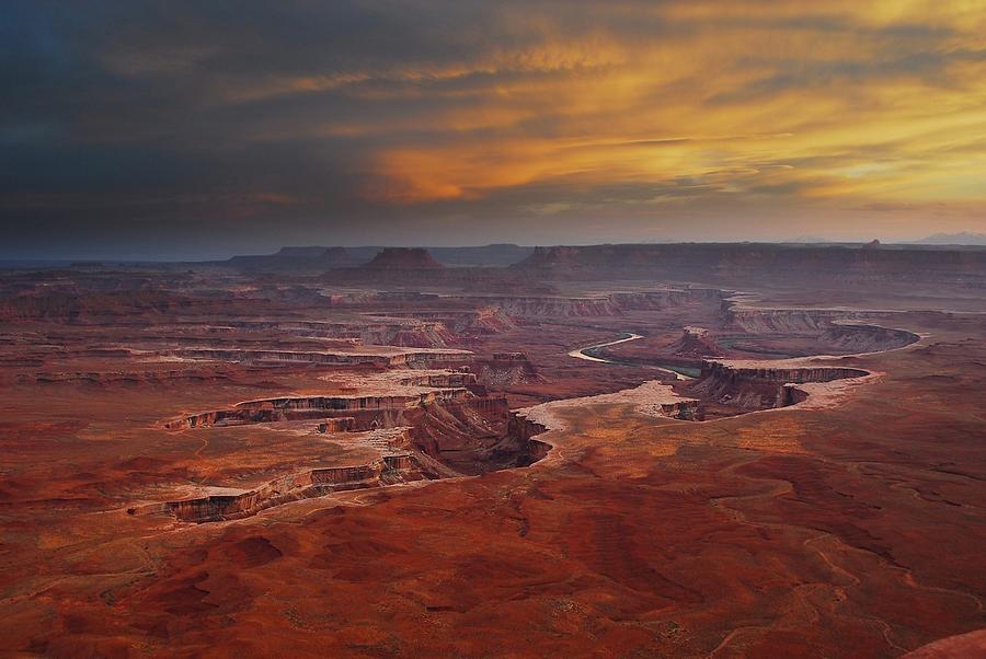Canyonlands Overlook Utah Photograph by Jonathan Duncan