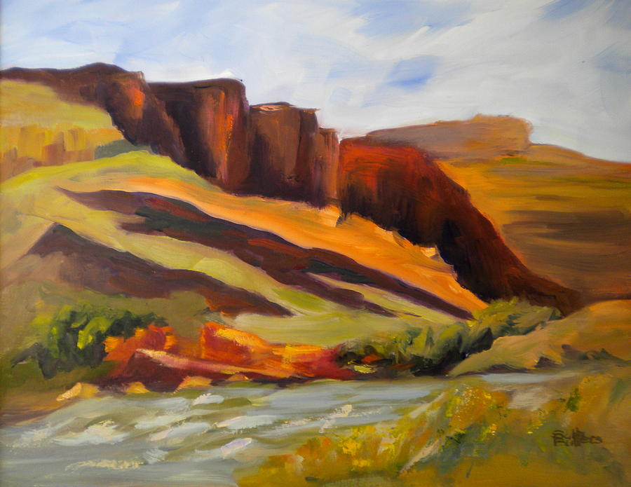 Canyonlands National Park Painting - Canyonlands by Sally Bullers