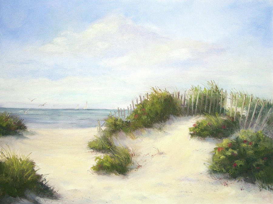 Beach Painting - Cape Afternoon by Vikki Bouffard