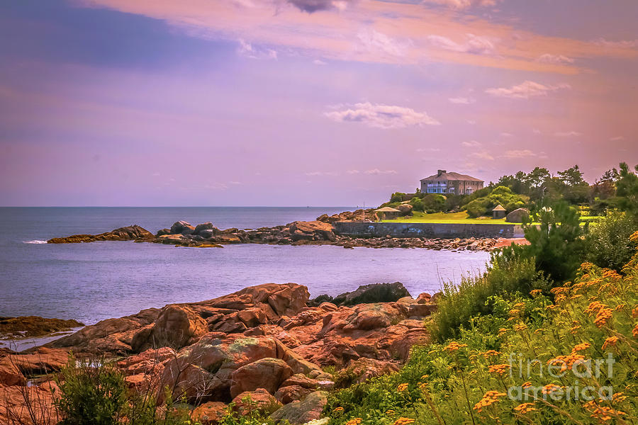 New England Photograph - Cape Ann Coastal View by Claudia M Photography