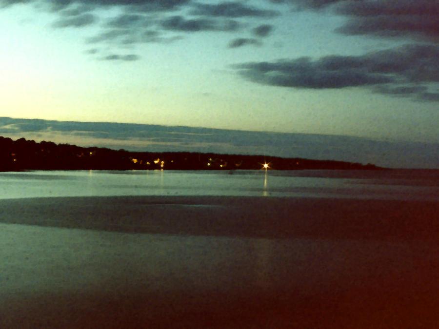 Sea Painting - Cape Ann Sunset by Paul Sachtleben