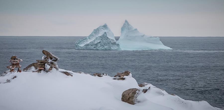 Cape Bonavista Iceberg by Crystal Fudge