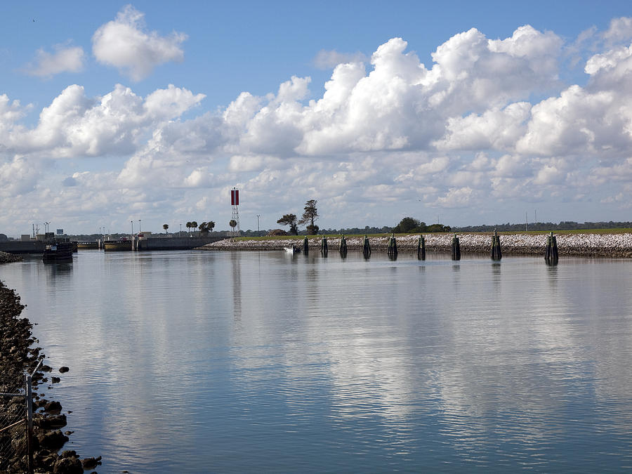 Florida Photograph - Cape Canaveral Locks In Florida by Allan  Hughes