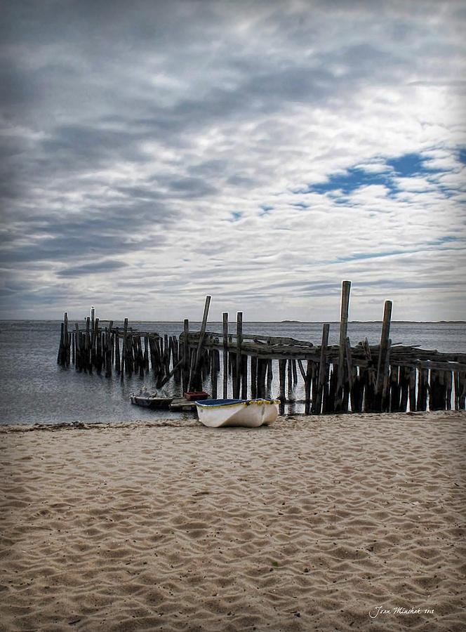 Cape Cod Digital Art - Cape Cod Bay by Joan  Minchak