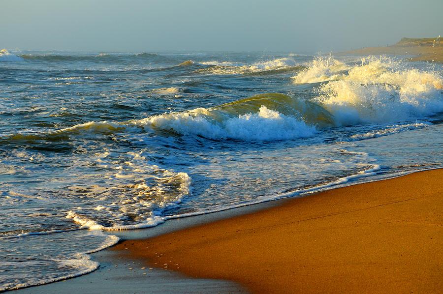 Ocean Photograph - Cape Cod By The Sea by Dianne Cowen