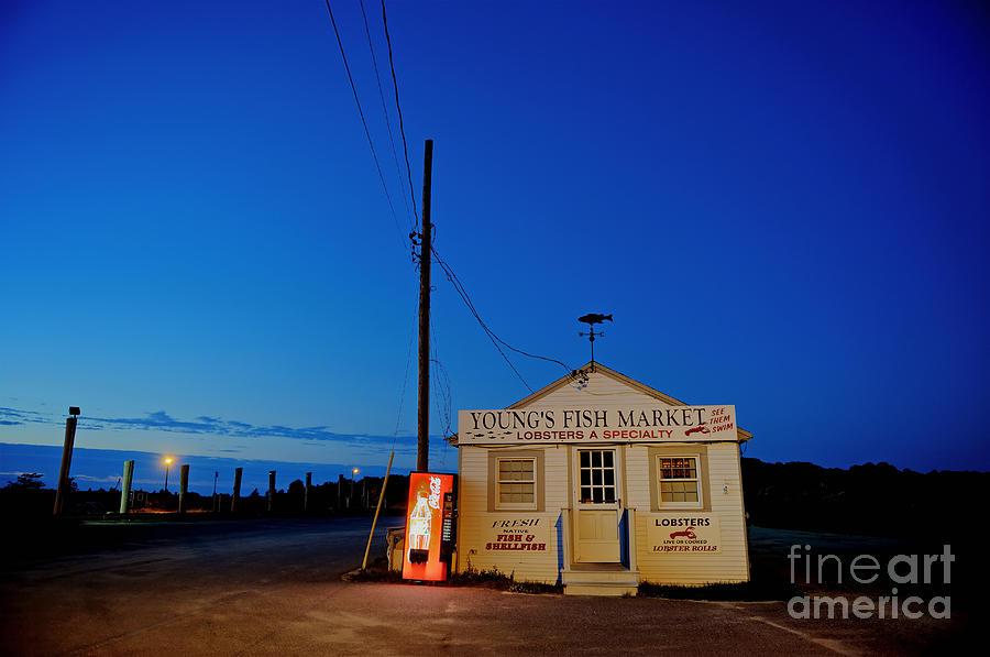 Fish Market Photograph - Cape Cod Fish Market by John Greim