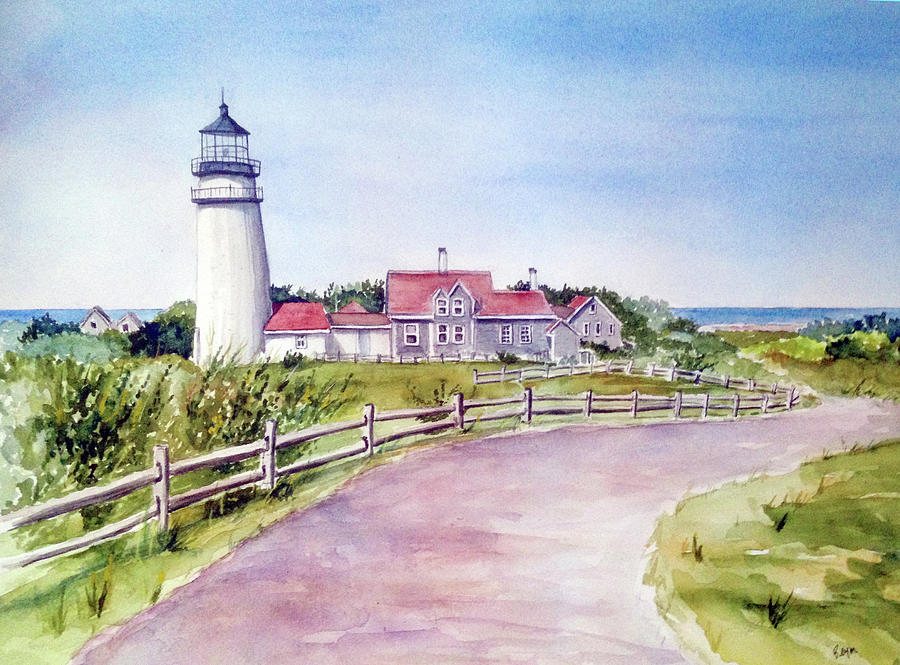 Cape Cod Highland Lighthouse by Clara Sue Beym