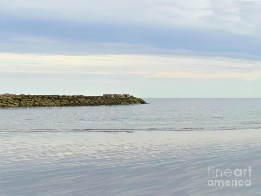 Cape Cod Jetty Sundown Photograph