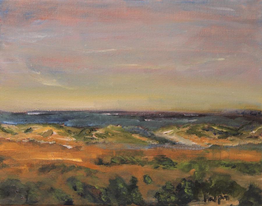 Nature Painting - Cape Cod Marsh by Michael Helfen
