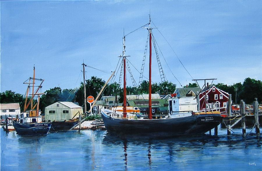 Landscape Painting - Cape Cod Remembered by William Brody