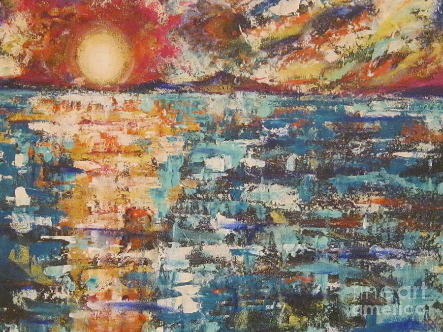 Cape Cod Sunset by Jacqui Hawk