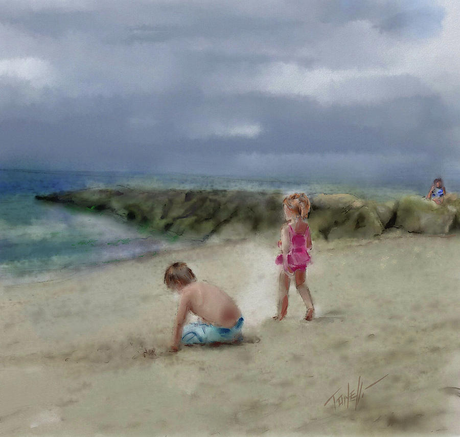 Cape Cod Vacation Painting